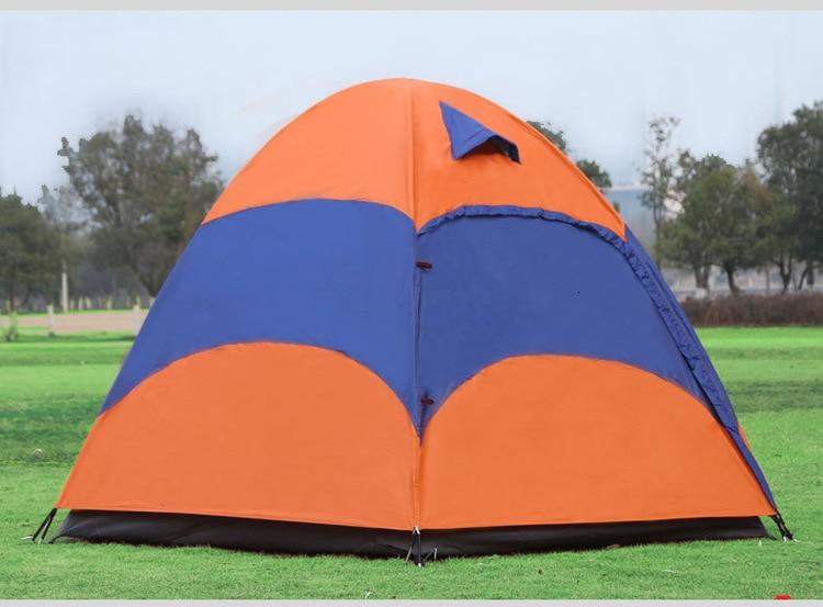 Mongolian Yurt Tent Fishing Mosquito Net Picnic Family Outdoor Camp Summer Beach Camping Tent 5 Person Waterproof (13)