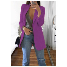 Women's Europe and the United States spring and autumn explosions fashion lapel cardigan temperament