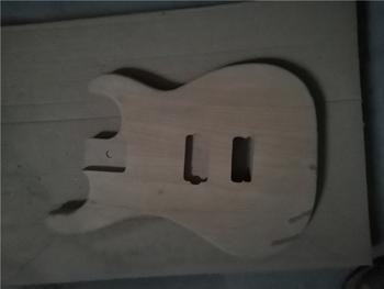 Afanti muzyka DIY gitara zestaw DIY gitara elektryczna ciała (MW-3-554) tanie i dobre opinie none not sure Nauka w domu Do profesjonalnych wykonań Beginner Unisex CN (pochodzenie) Drewno z Brazylii Electric guitar