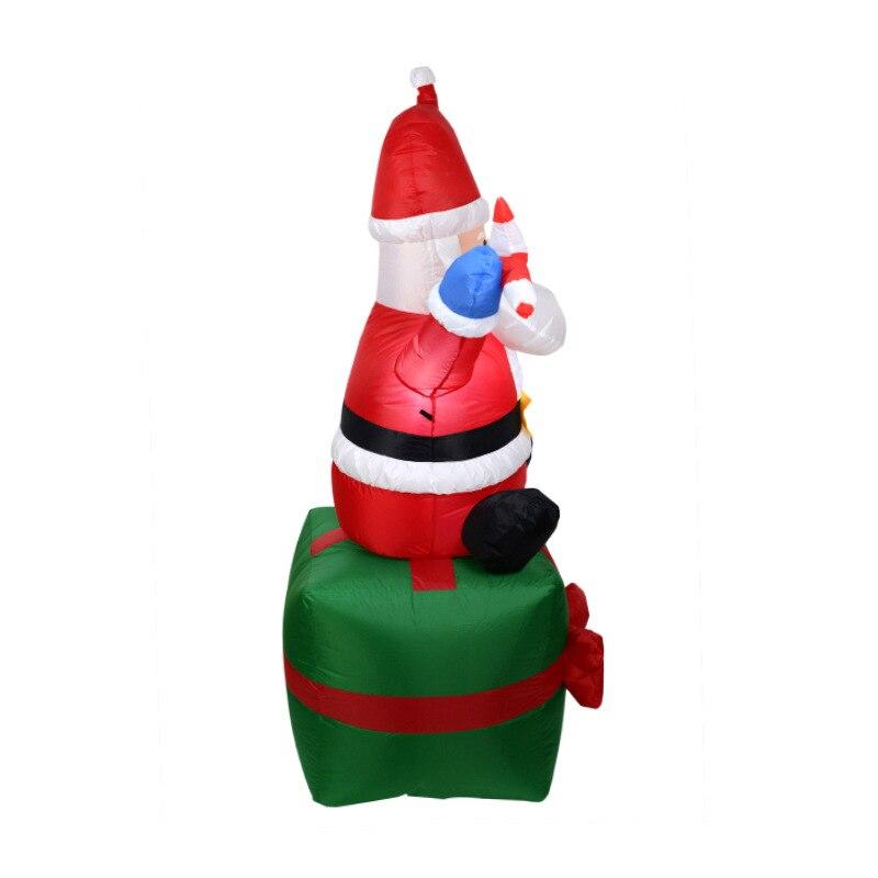 Foam Rose Bloemen Kerst Kous Hangers Decoratieve Xmas Tree Opknoping Ornament Thuis Party Holiday Decoraties Ambachten - 4