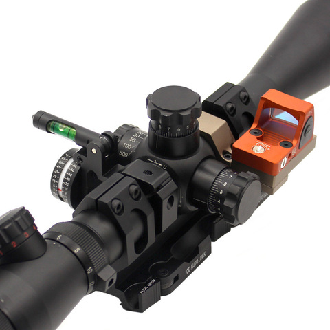 micro montagem vermelha do trilho do ponto 20mm para o docter rmr dp pro t1