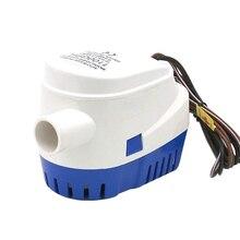 Автоматический 12 В 1100GBH Трюмный водяной насос погружные насосы с Поплавковым выключателем VS998