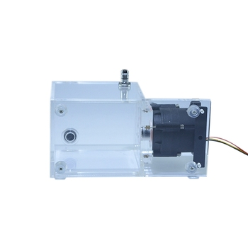 FREEZEMOD PUB-ST1000 890ML 1200L/H 12V DC 18W D Port Integrated Computer Water Cooler Pump Water Tanks