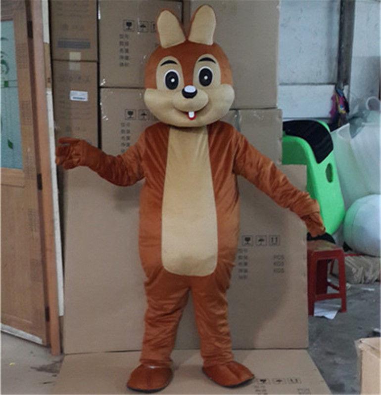 Halloween écureuil mascotte costumes Cosplay fête jeu robe tenues vêtements publicité Promotion carnaval adultes