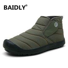 Winter Shoes Footwear Lightweight Ankle Waterproof No for Men Snow-Boots Plus-Size 46/Slip/On/..