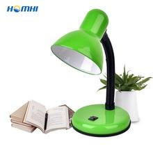 Table-Lamp Lampe-De-Chevet Abajur-De-Mesa Flexo Blue Kids Led-Stand Indoor-Lighting Green