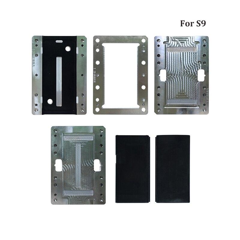 Para Samsung Galaxy S9 S9 Plus S8 S8 S7 Edge molde de laminación de pantalla LCD molde de alineación Oca de vidrio LCD cable flexible sin doblar para YMJ M - 4