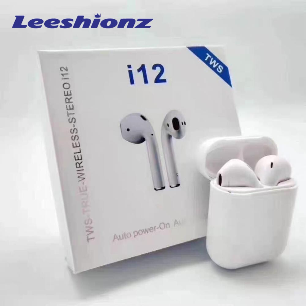 <font><b>i12s</b></font> <font><b>Tws</b></font> Headphone <font><b>Wireless</b></font> <font><b>Bluetooth</b></font> <font><b>5.0</b></font> <font><b>Earphone</b></font> <font><b>Mini</b></font> Earbuds With Mic Charging Box Sport Headset For <font><b>Smart</b></font> Phone image