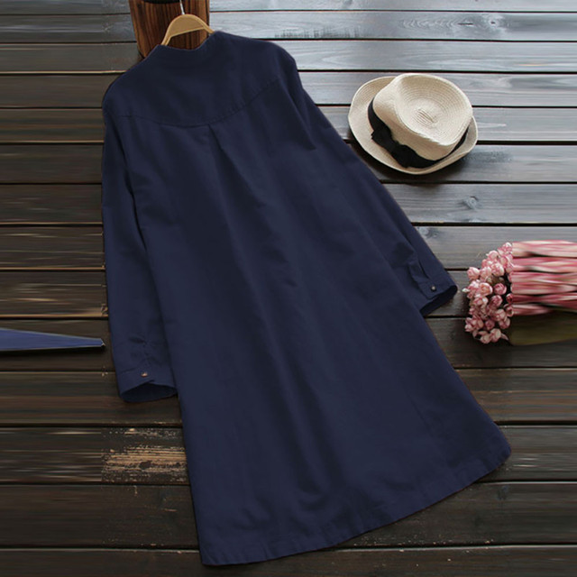 Nice  casual long Shirt dress, goes with anything 6