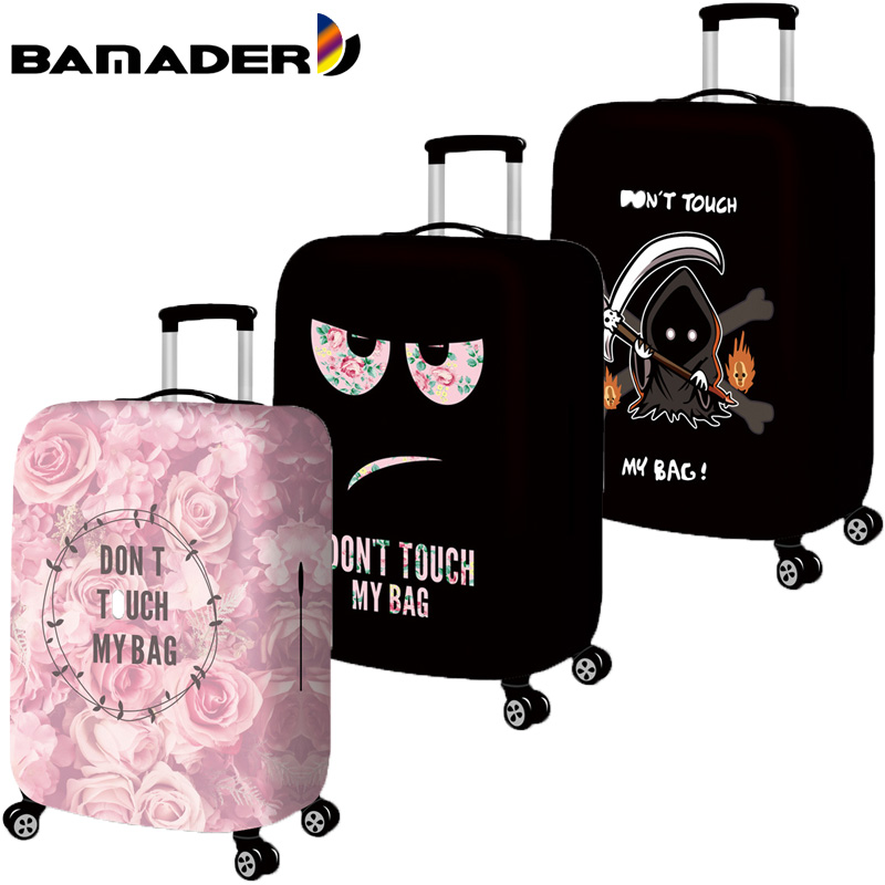 Thicken Luggage Cover Elastic Luggage Dust Cover Waterproof Suitcase Dust Cover Cartoon Travel Accessories Protective Cover