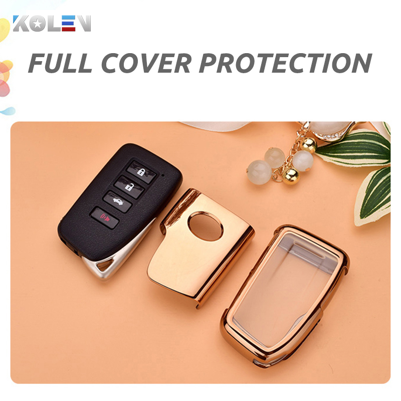 lowest price TPU PC Material Car Key Case Cover For Lexus NX ES GS RX IS RC LX 200 250 350 450H 300H ES200 Auto Remote Key Holder Shell Fob