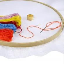 Embroidery Hand Woven Mesh Gridding Cloth 14 CT Houseware Carpet DIY Accessory Cross Stitch Fabric Classic Reserve Aida Cloth