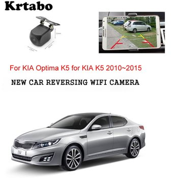 Car wireless rear camera For KIA Optima K5 for KIA K5 2010~2015 car Night HD camera CCD night vision waterproof high qualit фото