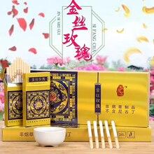 Чай, табак, золото, роза, хороший продукт для табака, хороший сигаретный курительный артефакт, 1 трубка, 10 пакетиков