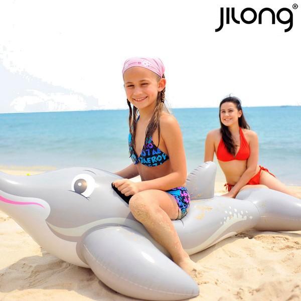 Air Mattress Dolphin Rider Jilong 18736 (152 X 90 Cm)