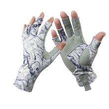 Aventik перчатки для рыбалки без пальцев предназначены для мужчин и женщин, рыбалки, лодок, каякинга, пеших прогулок, бега, езды на велосипеде и дрив