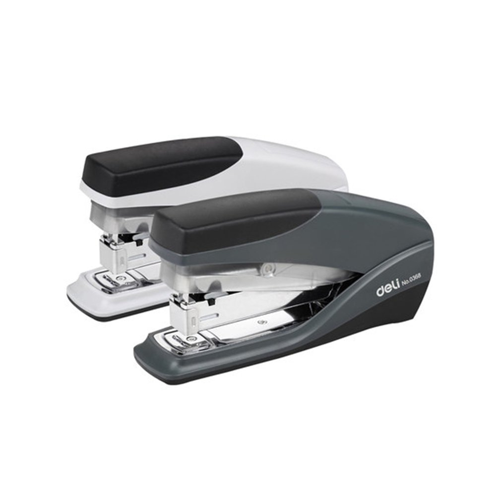 DELI 0368 Portable Size Make Book Repair Book Stapler Manual 20 Pages Capacity Binding Machine Office Stapler