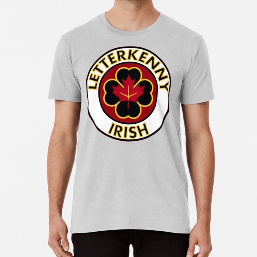 Letterkenny Hard No Pitter Patter Vintage Men/'s T Shirt Black Cotton Tee Shirt