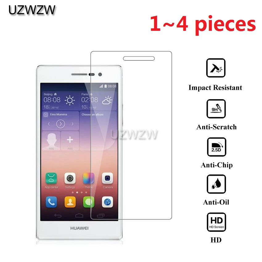 2.5D HD Tempered Glass For Huawei P7 Screen Protector Protective Glass Guard Film For Huawei Ascend P7