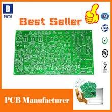 Fabricação do protótipo do pwb, produção flexível de alumínio do estêncil do pwb fr4, componentes eletrônicos, pcba do conjunto do pwb, link 7