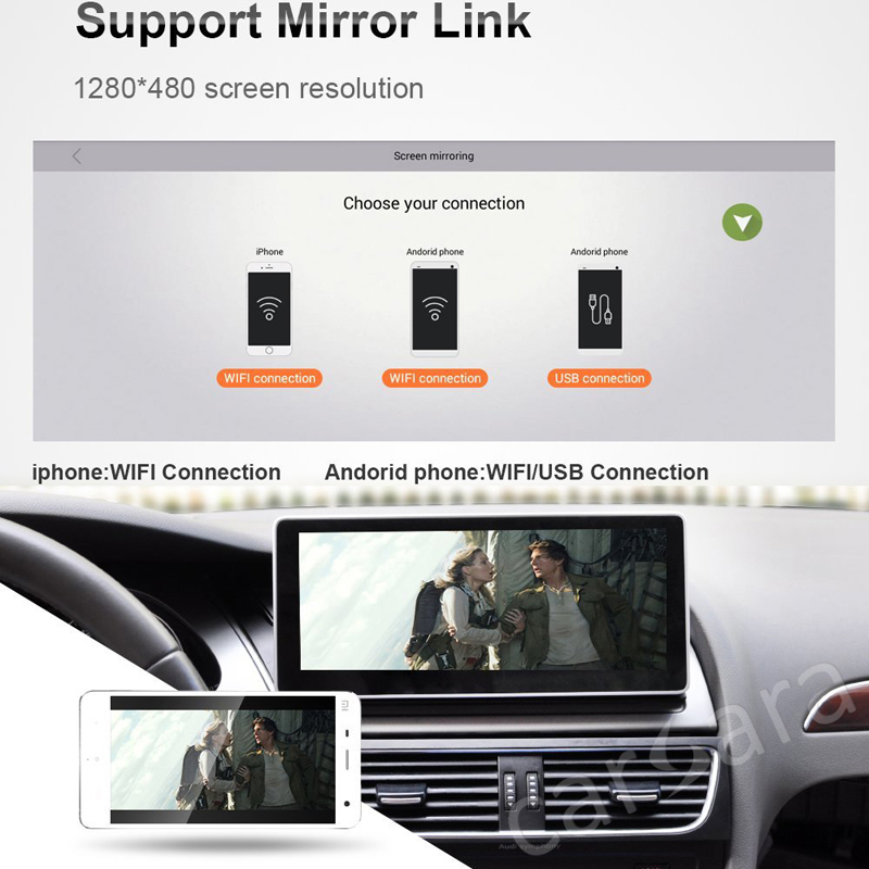 support mirror link
