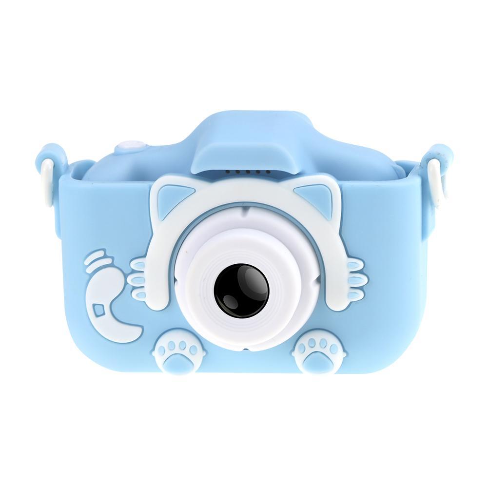H1c3b2290bee940d5980b852d3222d390V Mini Cartoon Kids Camera Creative Children's Camera HD Digital Camera Portable 1080P Camera For Kids Birthday Christmas Gift