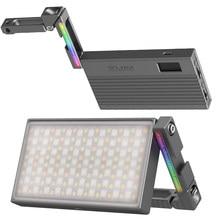 VIJIM R70 Volle Farbe Dimmbare RGB led video Licht mit Magie Arm Halterung 2700k-8500k Füllen Licht fotografie Studio Licht