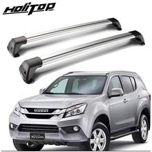 New arrival cross bar roof rack luggage bar roof rail for Isuzu MU X MUX 2014 2020,thick aluminum alloy,easy installation