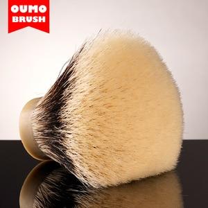 Image 4 - Pompa fırça FAN SHD mançurya finest iki bant tıraş fırçası knot