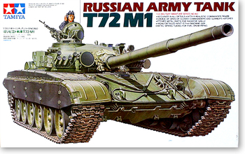 Tamiya 35160 1/35 Russian Army T72 M1 MBT Main Battle Tank Display Collectible Toy Plastic Assembly Building Model Kit
