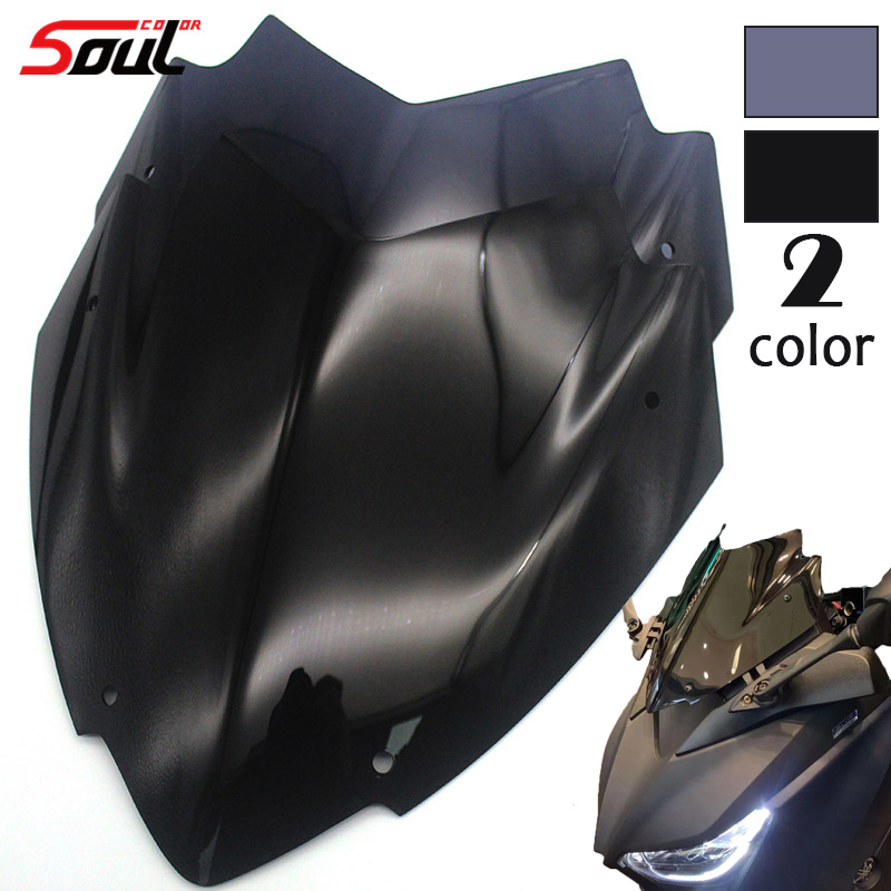 Motorcycle Sports Windshield WindScreen Visor Viser Fits For XMAX300 XMAX250 XMAX 250 300 2018-2019 Double Bubble