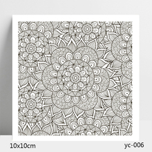 AZSG FLOWER Clear Stamps/Stamp/For Scrapooking/Card Making/Silicone Stamps/Decoration  Crafts