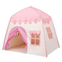 Folding Children Tent Portable Kids Tents Teepee Large Playhouse Children Bed Tent Children Furniture 130X100 X 130cm TB Sale