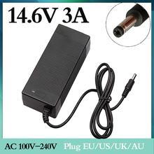 1 pc melhor preço 14.4 ou 14.6 v 3a carregador de bateria para 4S 3.2 v 4 séries lifepo4 bateria com 3a carga de corrente constante