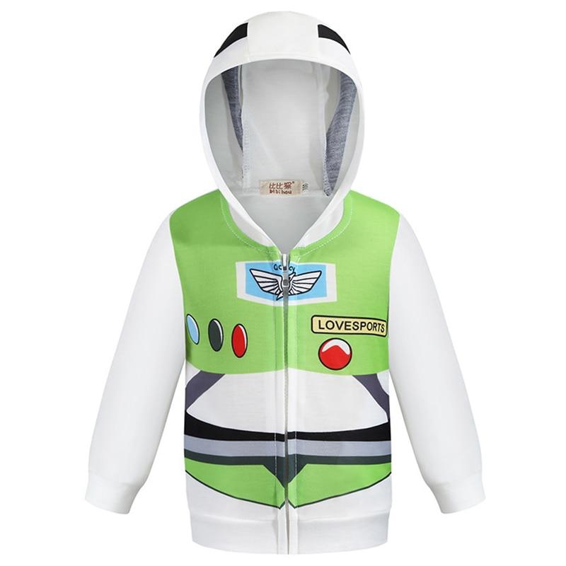 Baby Boys Cool Superheroes Hoodie Cartoon Sweatshirt Kids Cars Clothes Spring Autumn Thin Coat Children Hooded