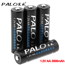 Palo 1.2V Aa Batterij 3000 Mah Aa Oplaadbare Batterij Ni Mh Aa Batterijen Voor Klokken, Computers, Speelgoed, muis Batterijen