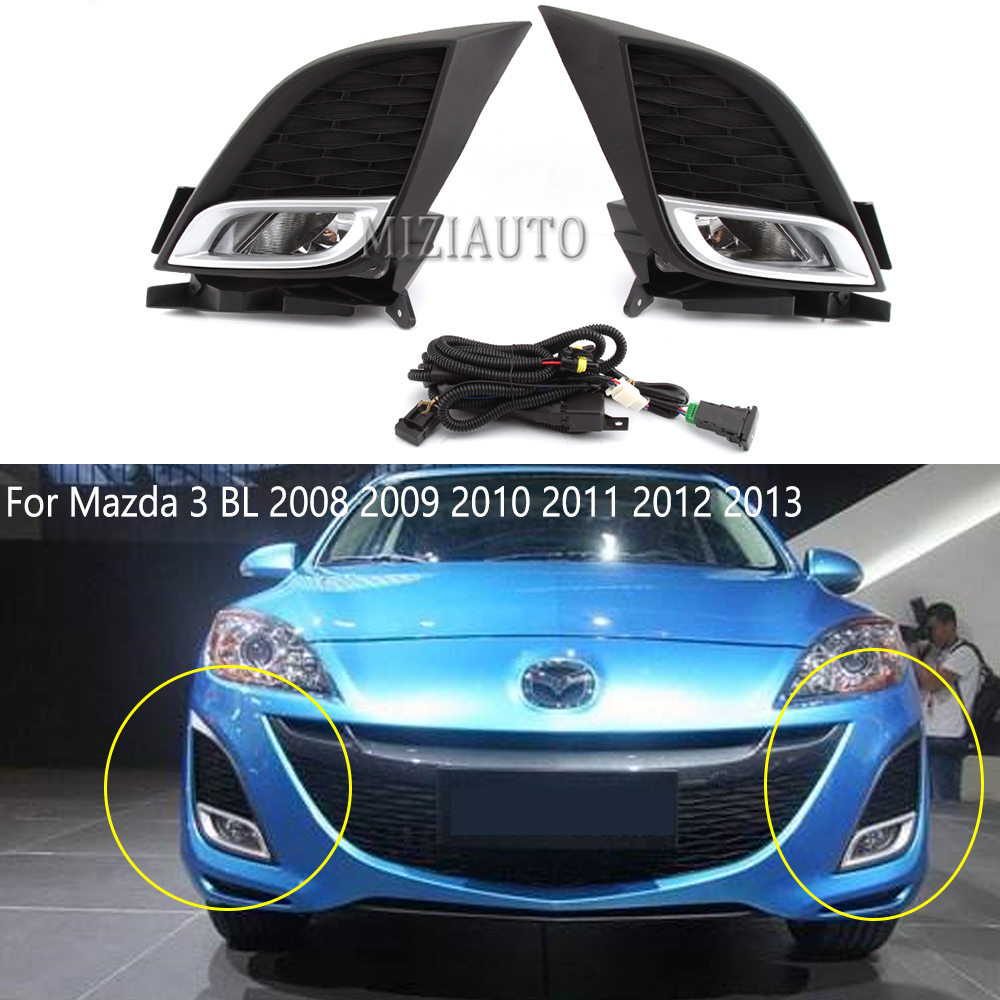 Chrome Headlight Front Lamp Right Fits FORD Fiesta Hatchback 2008-2012