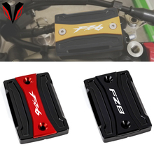 Front Brake Fluid Reservoir Cover Cylinder Cap For YAMAHA FZ8 FAZER 2010 2014 FZ6 2004 2015 Motorcycle Accessories Aluminum