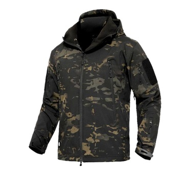 Military Jacket Men Winter Camouflage Tactical Waterproof Windbreaker Hooded Male Camo Coat Plus Size 5XL Bomber Army - discount item  40% OFF Coats & Jackets