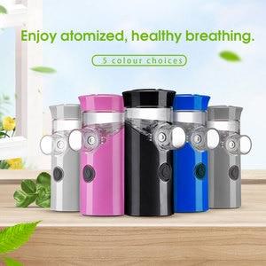 Image 2 - Health Handheld mini nebulizer medical atomizer asthma child silent inalador nebulizador Children Adult Automizer Dropshipping