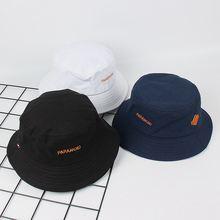 Шляпа в рыбацком стиле корейская мода хип хоп пара козырьков