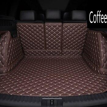 Custom car trunk mats made for Kia Soul K7 Cadenza 6D heavy duty foot case anti slip car-styling carpet rugs liners (2010-)