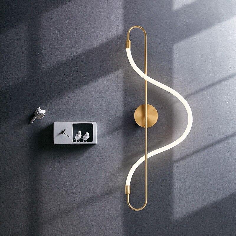 Купить artpad скандинавские бра большой размер 22 вт золотой настенный