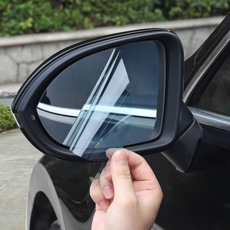 Купить 2 шт/компл задняя зеркальная защитная пленка для автомобиля