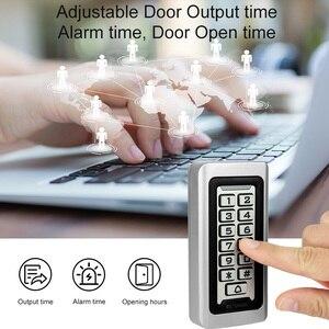 Image 3 - Retekess T AC03 Tastiera Sistema di Controllo Accessi RFID Di Prossimità Carta Standalone 2000 Gli Utenti di Porta di Controllo di Accesso Impermeabile Della Cassa del Metallo