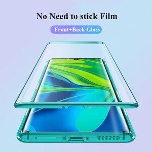 Image 3 - 360 Full Cover For Xiaomi Mi Mix 2S Metal Magnetic Case For Xiaomi Mix 2S Case Double Glass Coque For Xiaomi Mi Mix2S Funda Capa