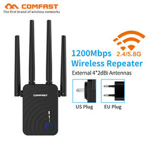Wireless Wifi Repeater Extender Fi-Booster Access-Point Long-Range 300/1200m