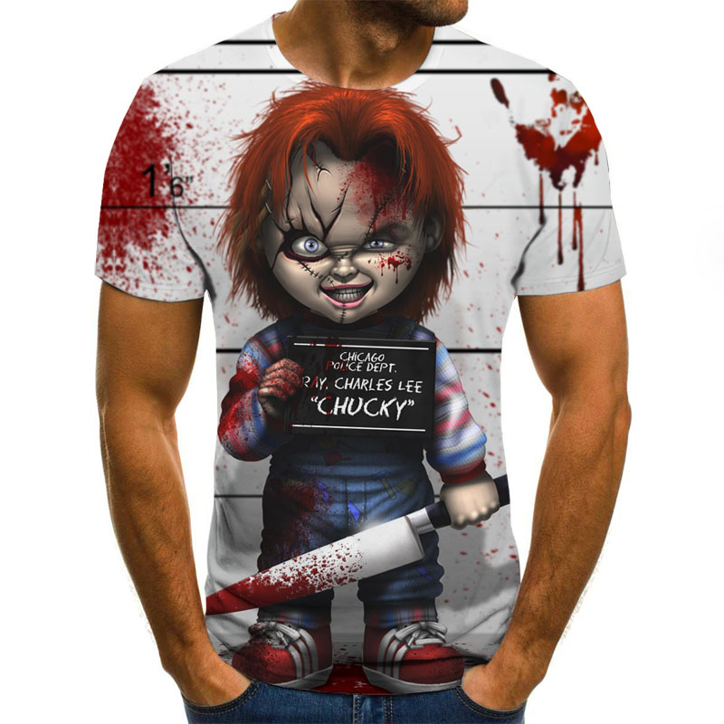 2020 Letter Series Printed 3D T-shirt Round Neck Short Sleeve Women Tees Men Casual Women's T Shirts Tops