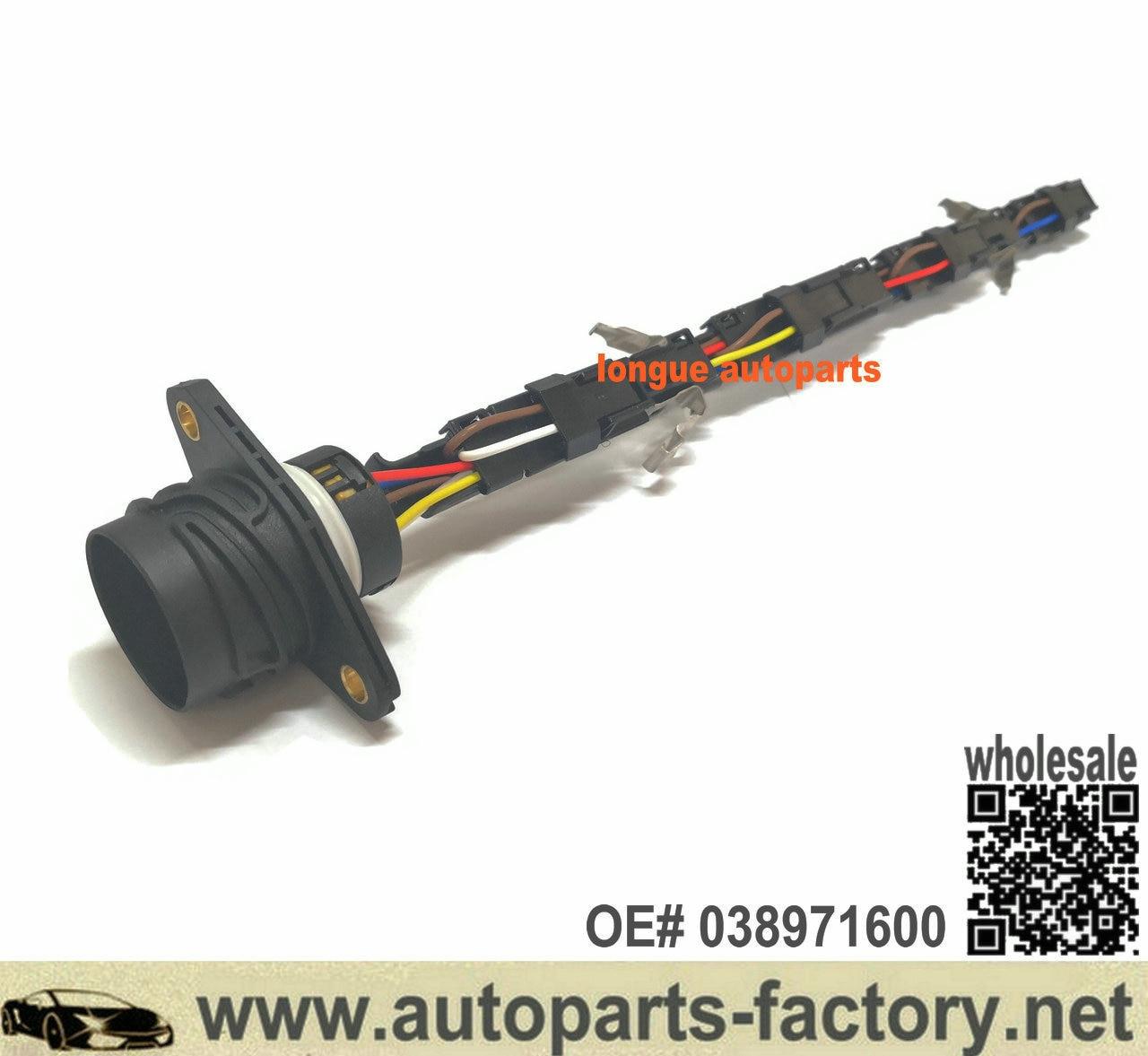 Longyue Genuine VW Diesel Injector Wiring Loom For VW 1.9 & 2.0 8v TDI PD Engines 038971600