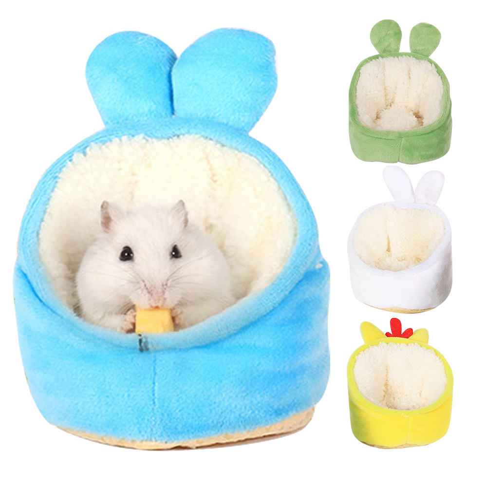 Pet Bed Soft Pet House Guinea Pigs Bed Nest Pad for Small Animal Hamster Pet Supplies hedgehogs/hamsters